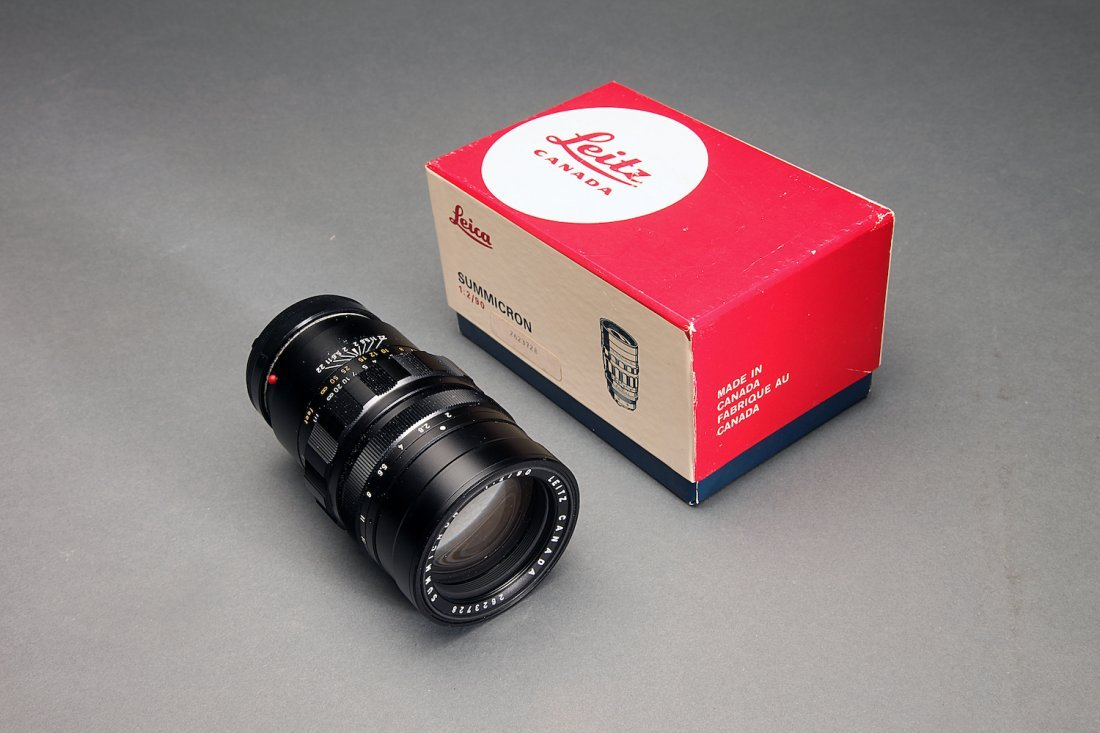 Summicron Leica 1:2/90 Lens