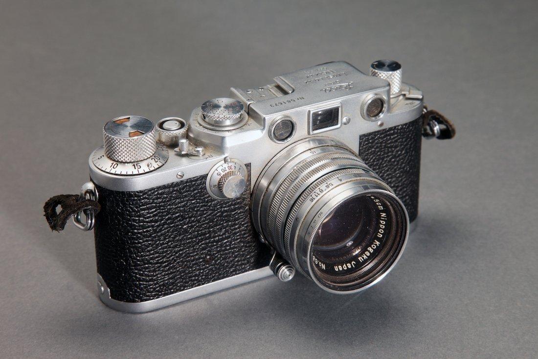 Leica Ernst Leitz Wetzlar 50mm 111F Camera