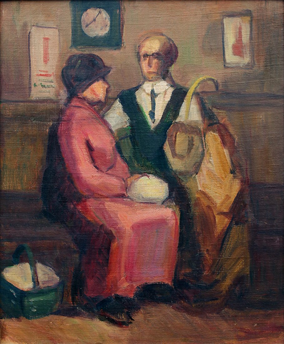 Ashcan School Painting