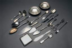 19 Miscellaneous Sterling Silver Items