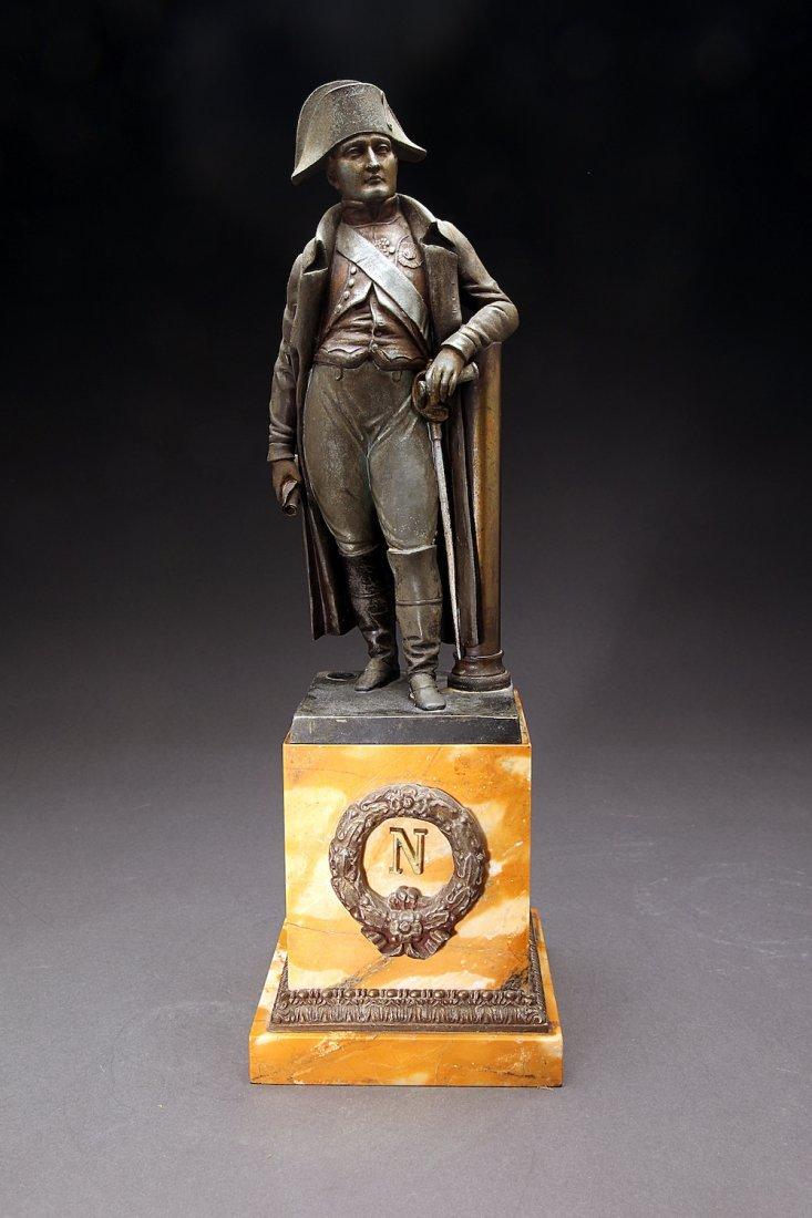 Grand Tour Figure of Napoleon on Marble Base