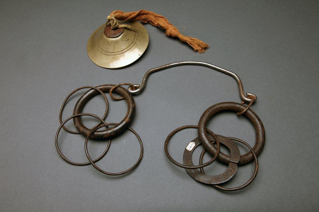 2 Antique Tibetan Ritual Bells