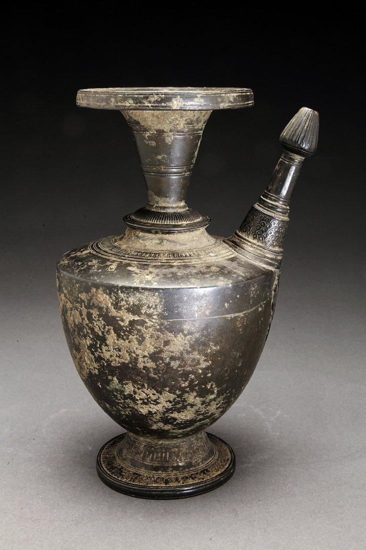 Antique Nepalese Bronze Ewer