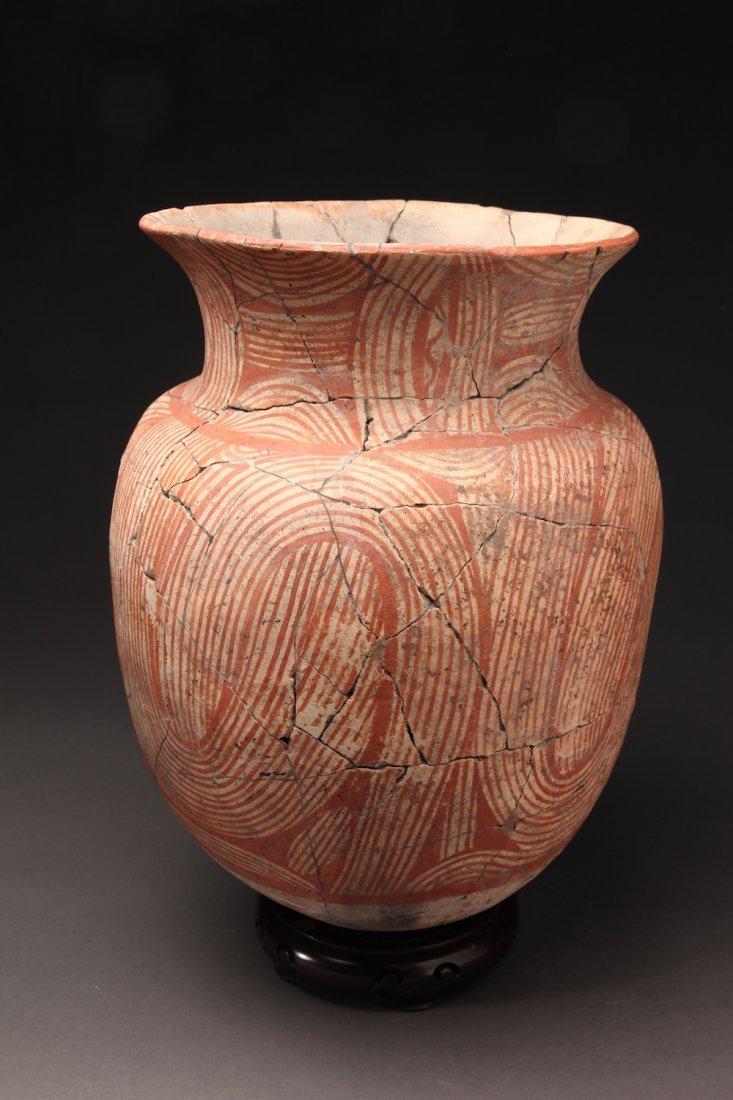 Ancient Large Ban Chiang Pottery Urn