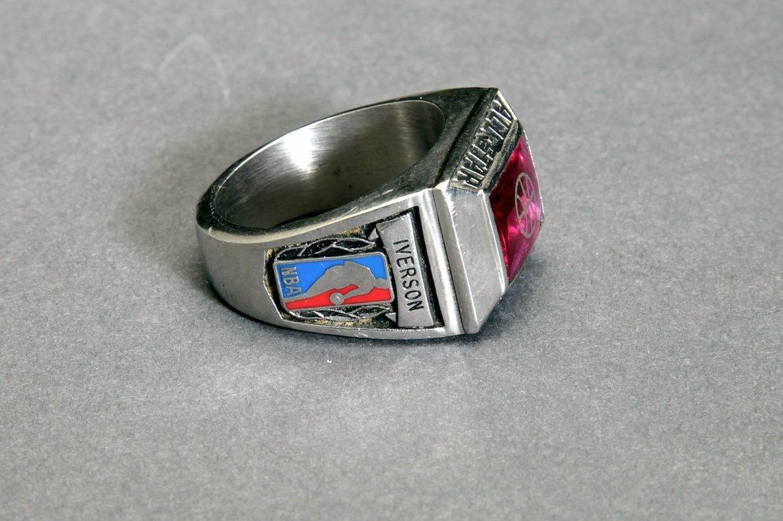 Allen Iverson NBA Basketball Ring PSA/DNA