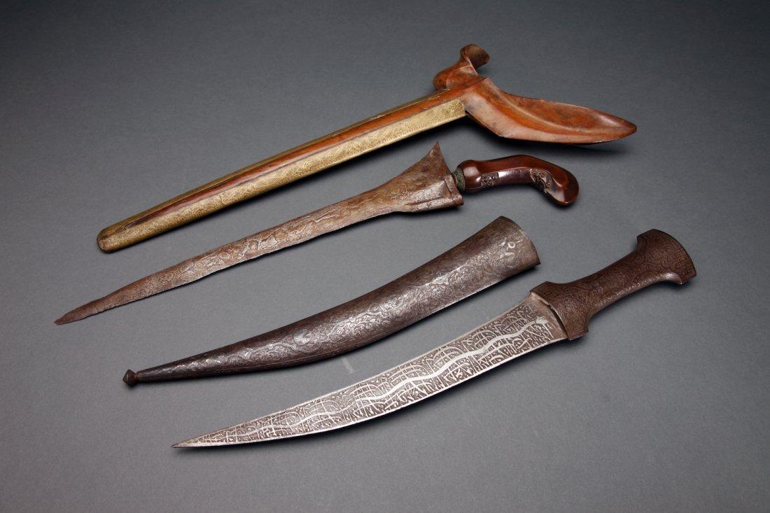 2 Swords: Persian Khanjar & Java Kris