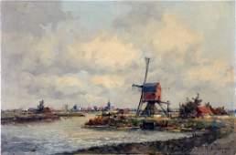 Marinus Johannes de Jongere Dutch Landscape