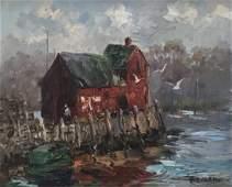 Albert Ruben Rockport Painting
