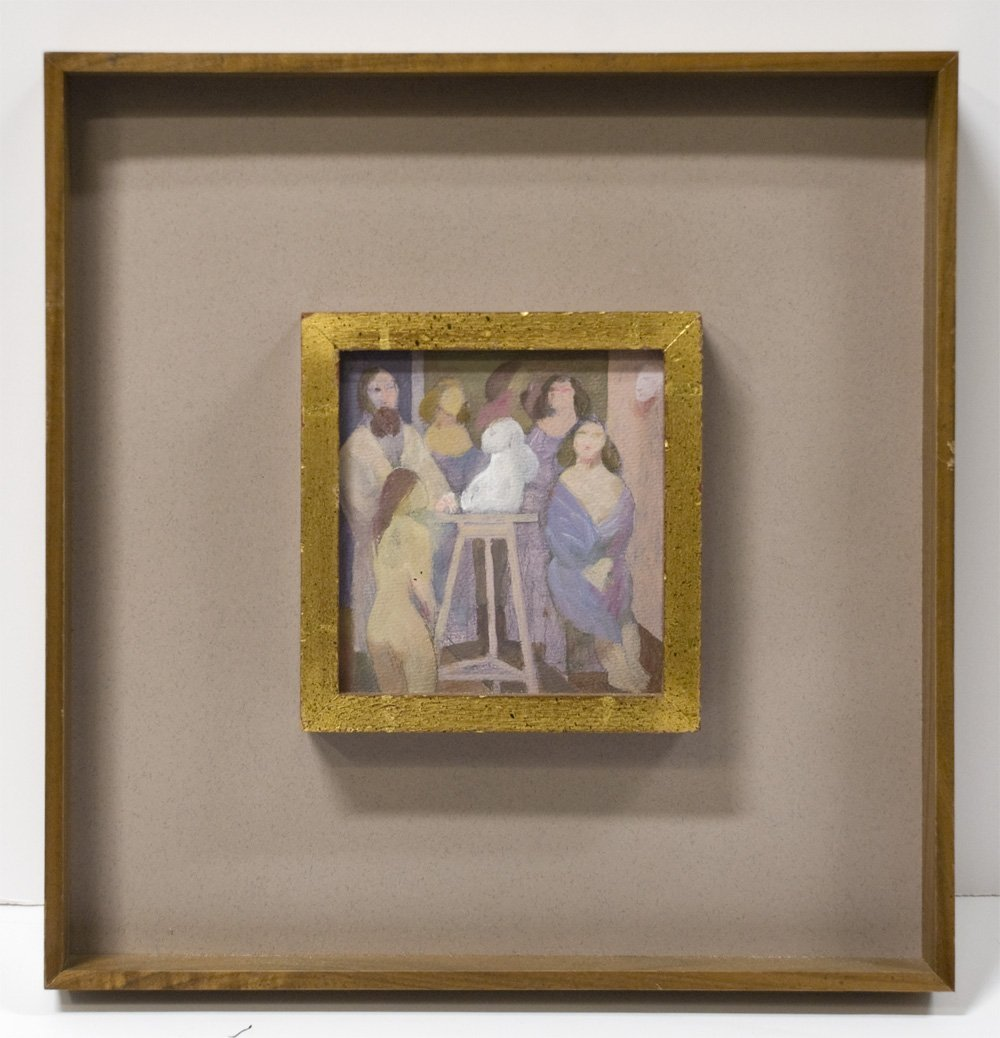 The Artist's Studio by Richard Haines