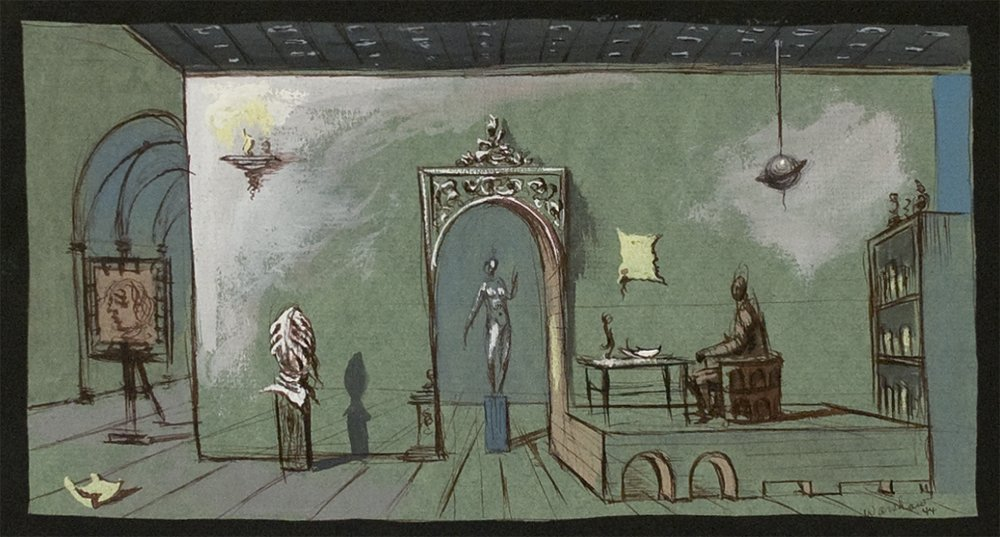 Set Design by Howard Warshaw, 1944