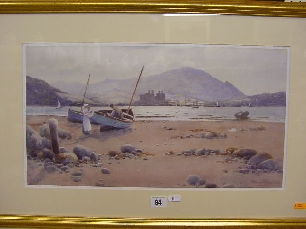 1004: After WARREN WILLIAMS coloured print of Conwy wit
