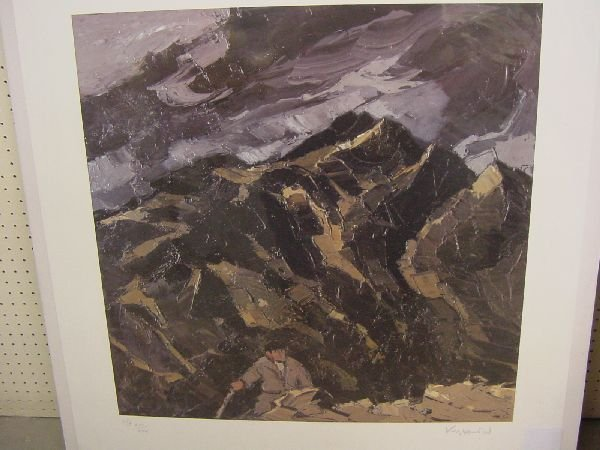 1005: SIR KYFFIN WILLIAMS coloured limited edition arti