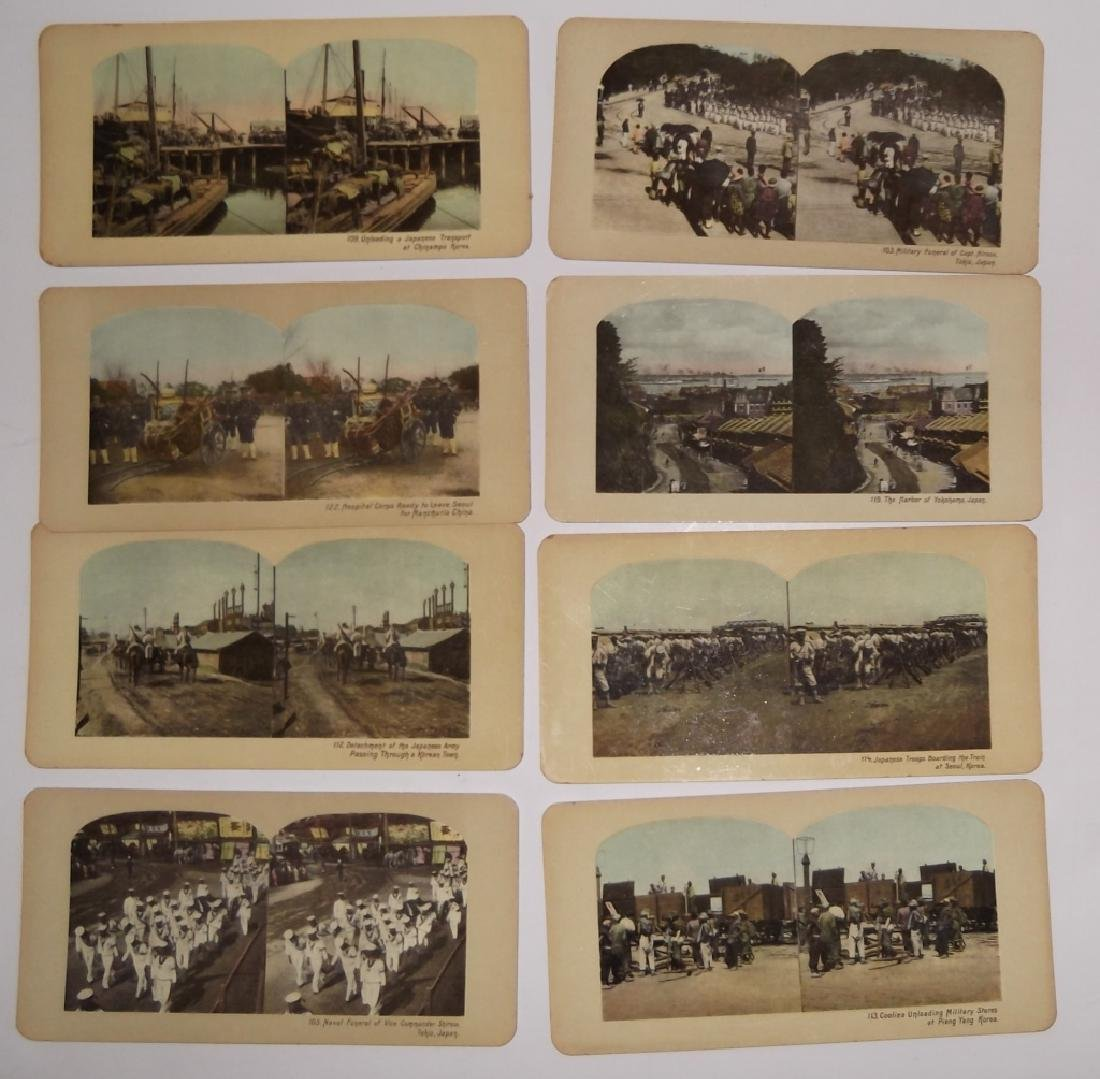 8 Stereoscope view Cards