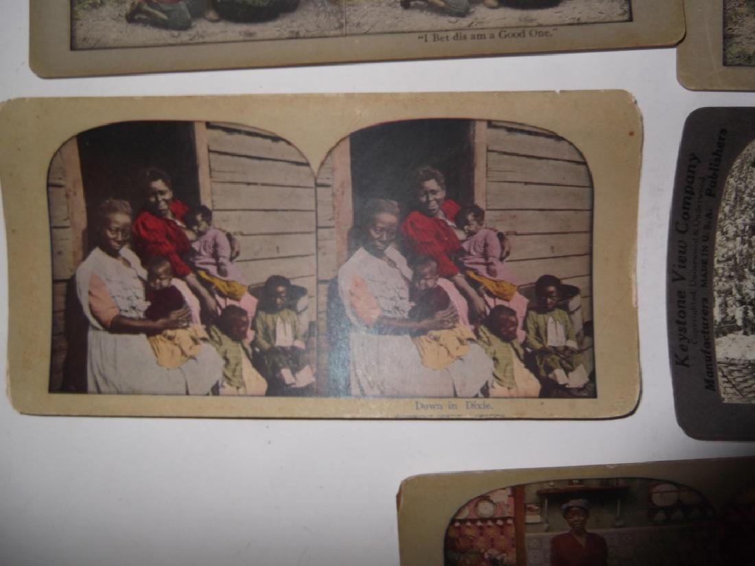 5 Stereoscope view Cards - 2