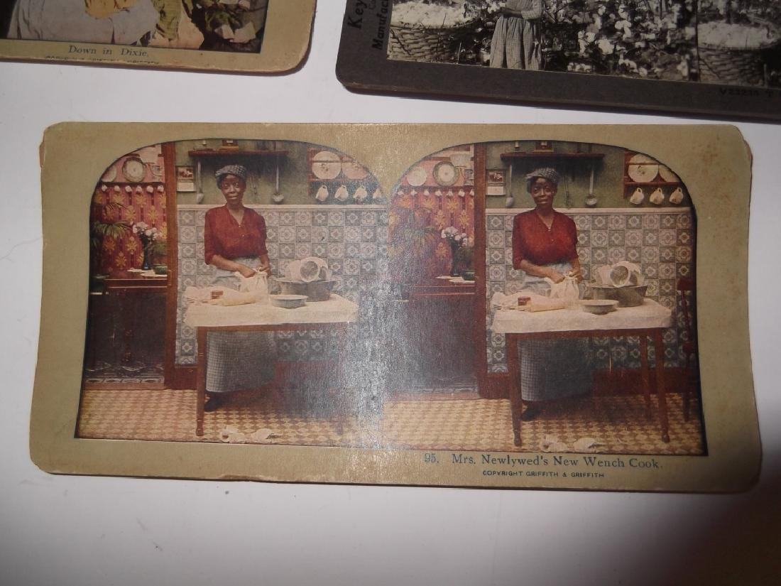 5 Stereoscope view Cards - 4