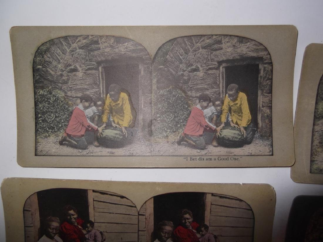 5 Stereoscope view Cards - 6