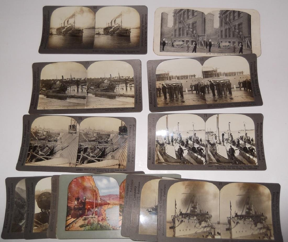 13 Stereoscope view Cards