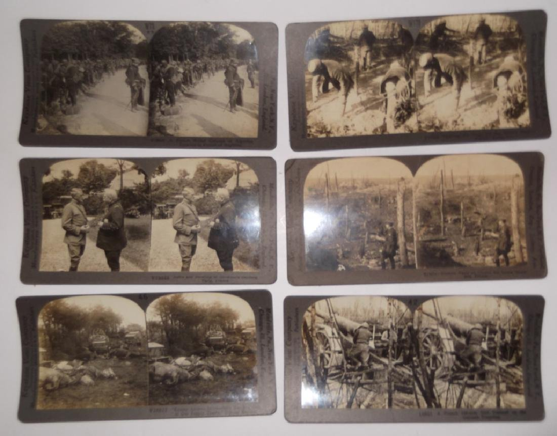 50 WWI Stereoscope view Cards - 10