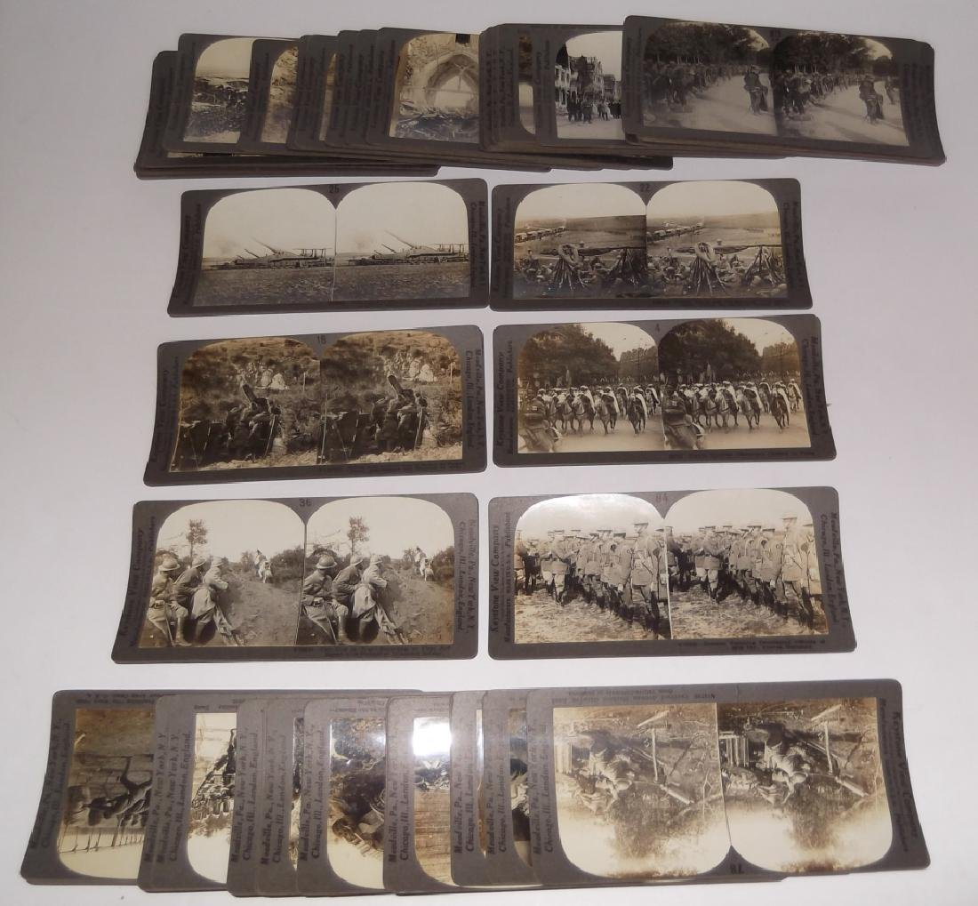 50 WWI Stereoscope view Cards
