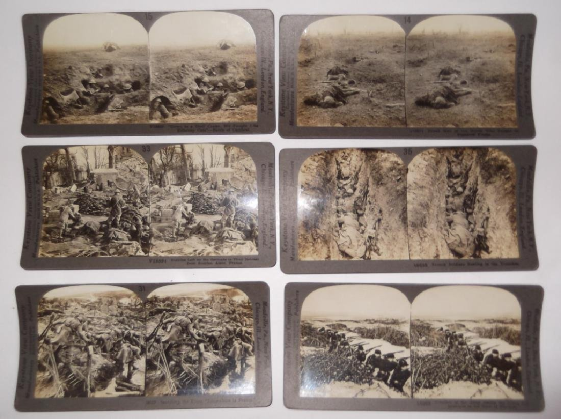 50 WWI Stereoscope view Cards - 2