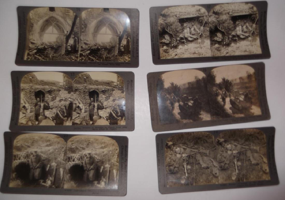 50 WWI Stereoscope view Cards - 3