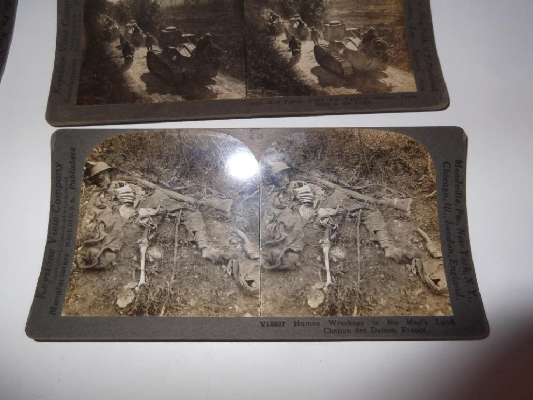 50 WWI Stereoscope view Cards - 4