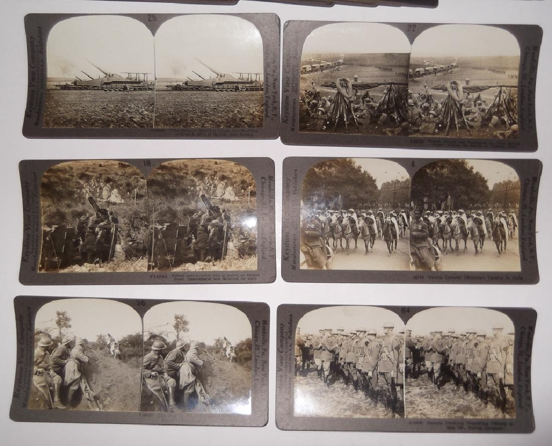 50 WWI Stereoscope view Cards - 5