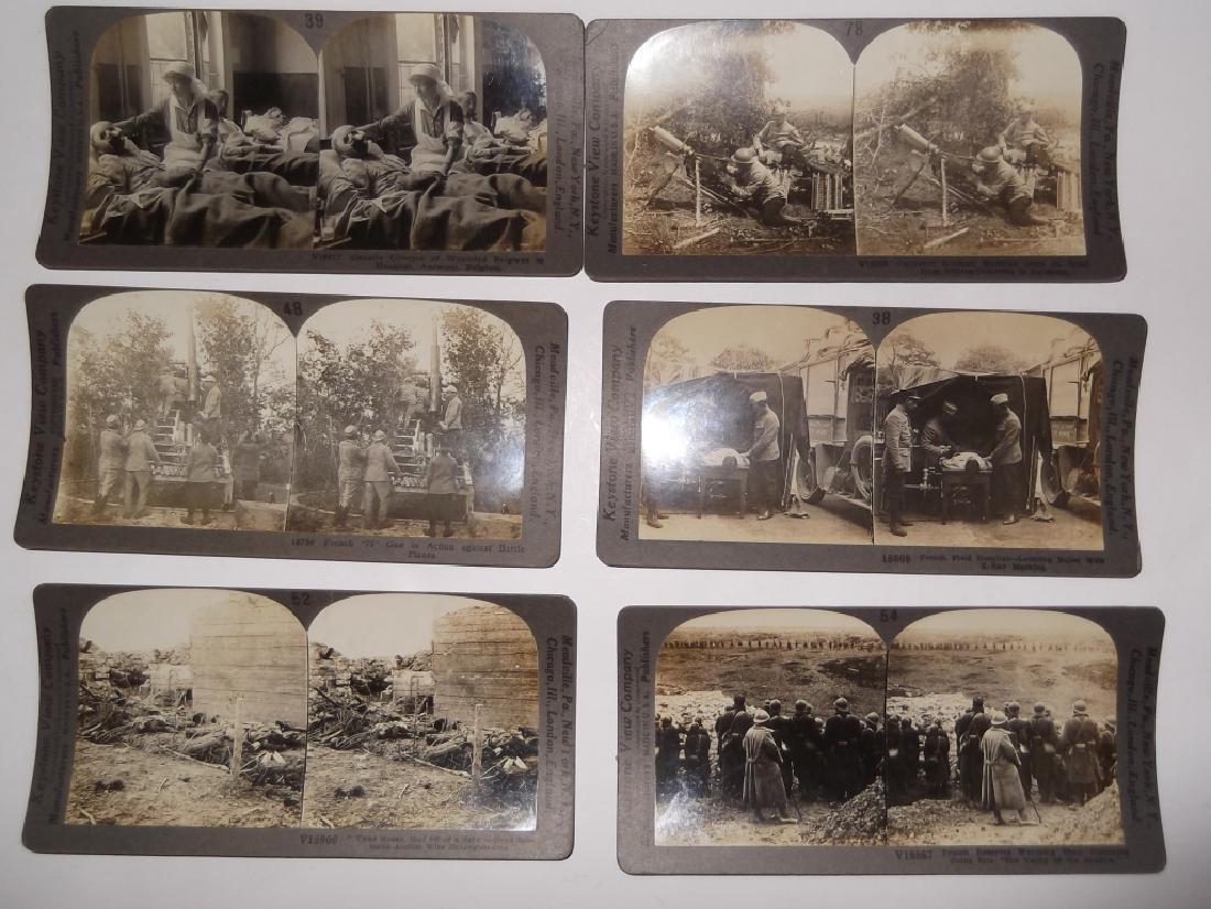 50 WWI Stereoscope view Cards - 6