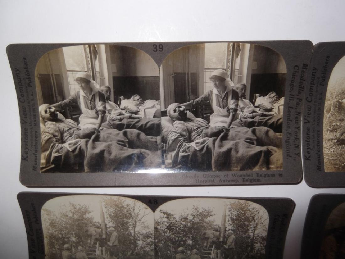 50 WWI Stereoscope view Cards - 7