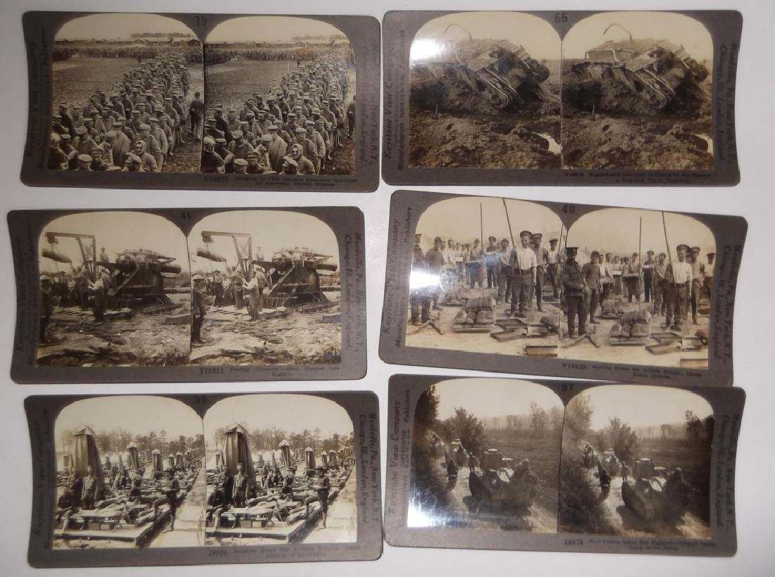 50 WWI Stereoscope view Cards - 8