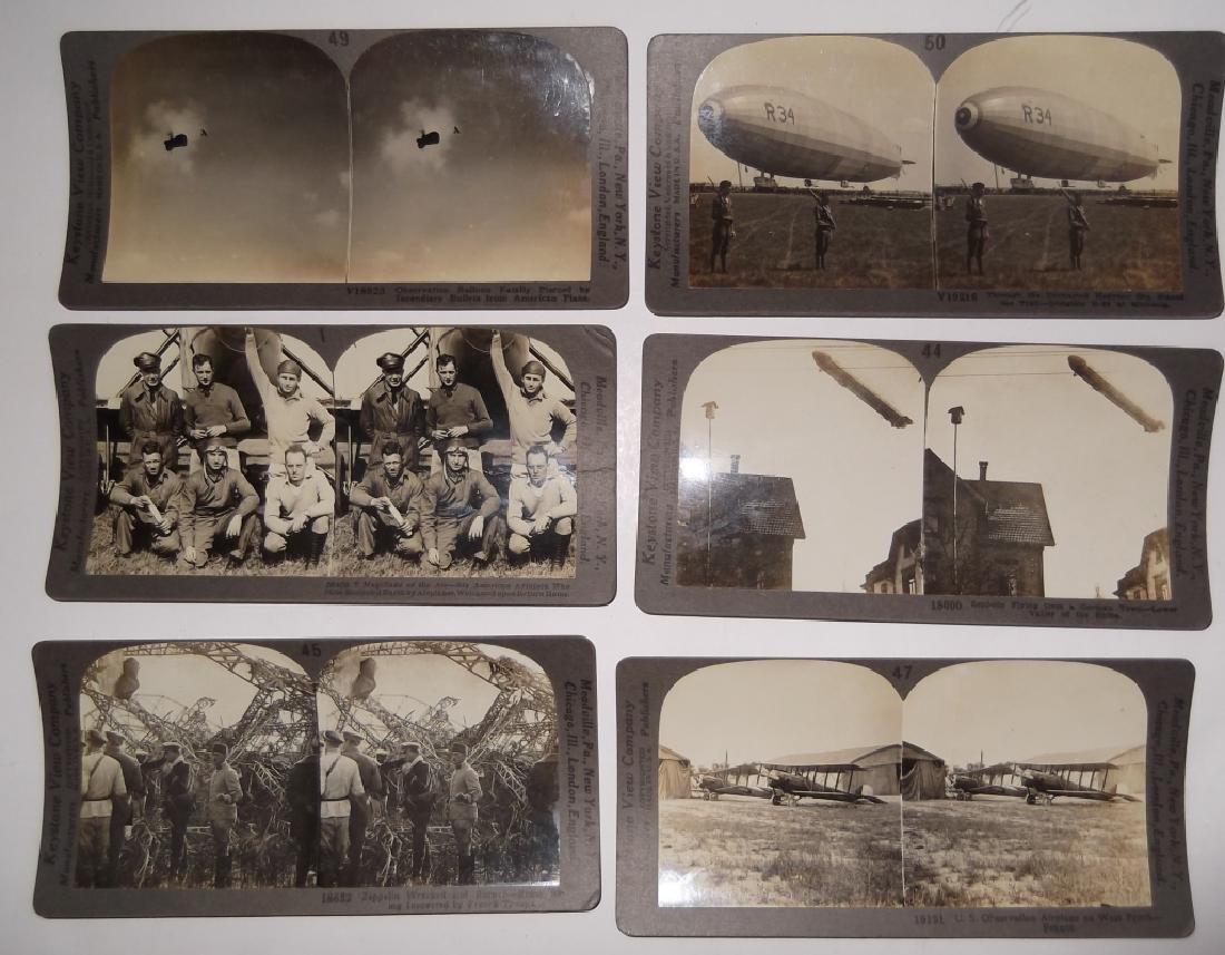 6 Stereoscope view Cards
