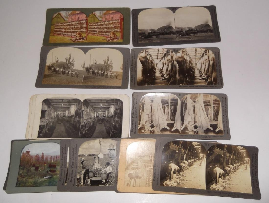 18 Stereoscope view Cards
