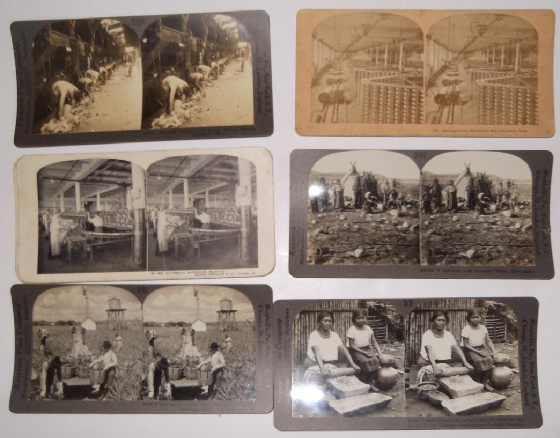 18 Stereoscope view Cards - 3