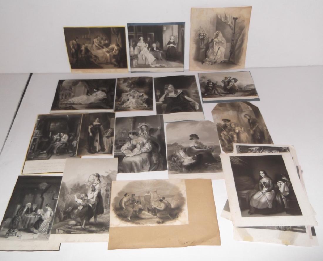 25 bookplate engravings/etchings