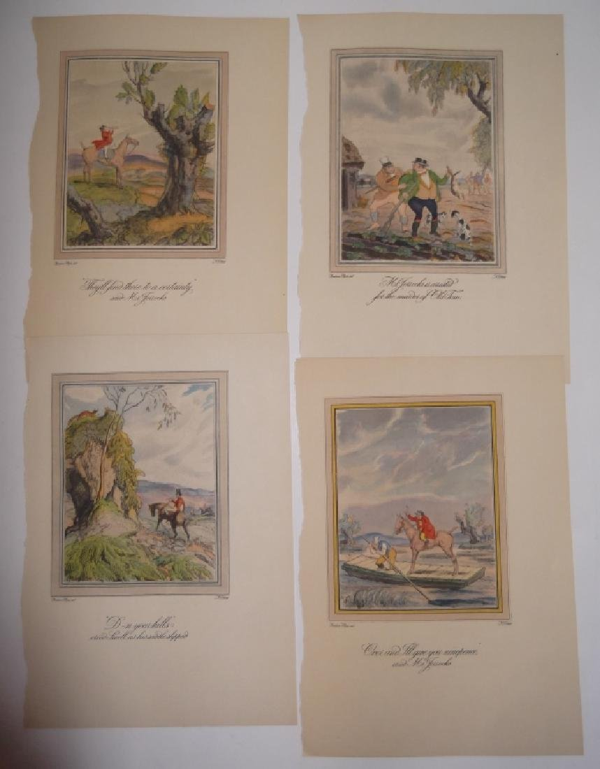 25 antique bookplate engravings/etchings/litho - 5