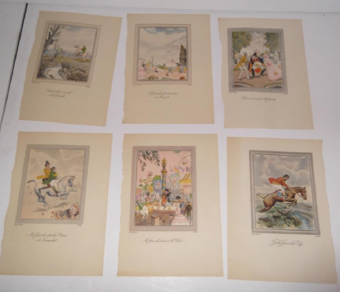 25 antique bookplate engravings/etchings/litho - 8