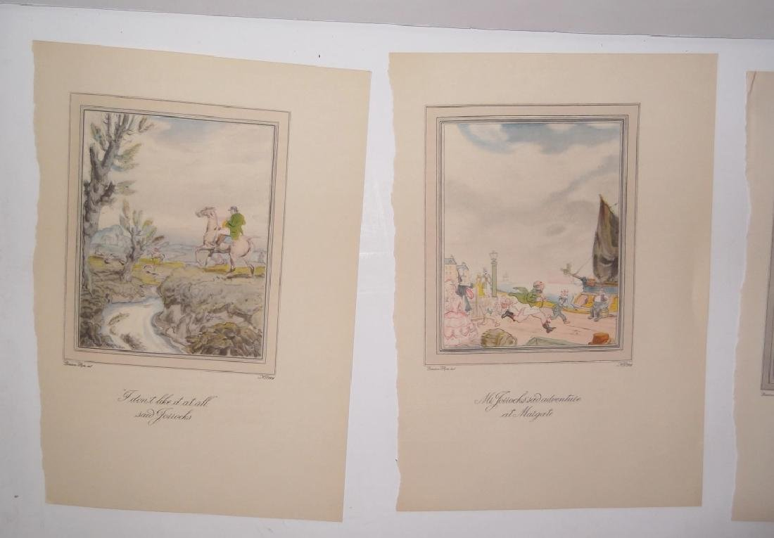 25 antique bookplate engravings/etchings/litho - 9