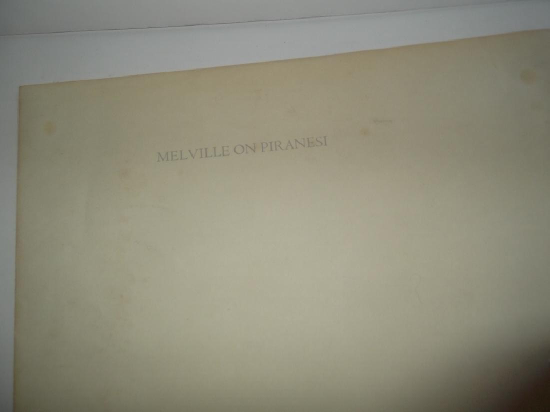 Melville on Piranesi print - 3