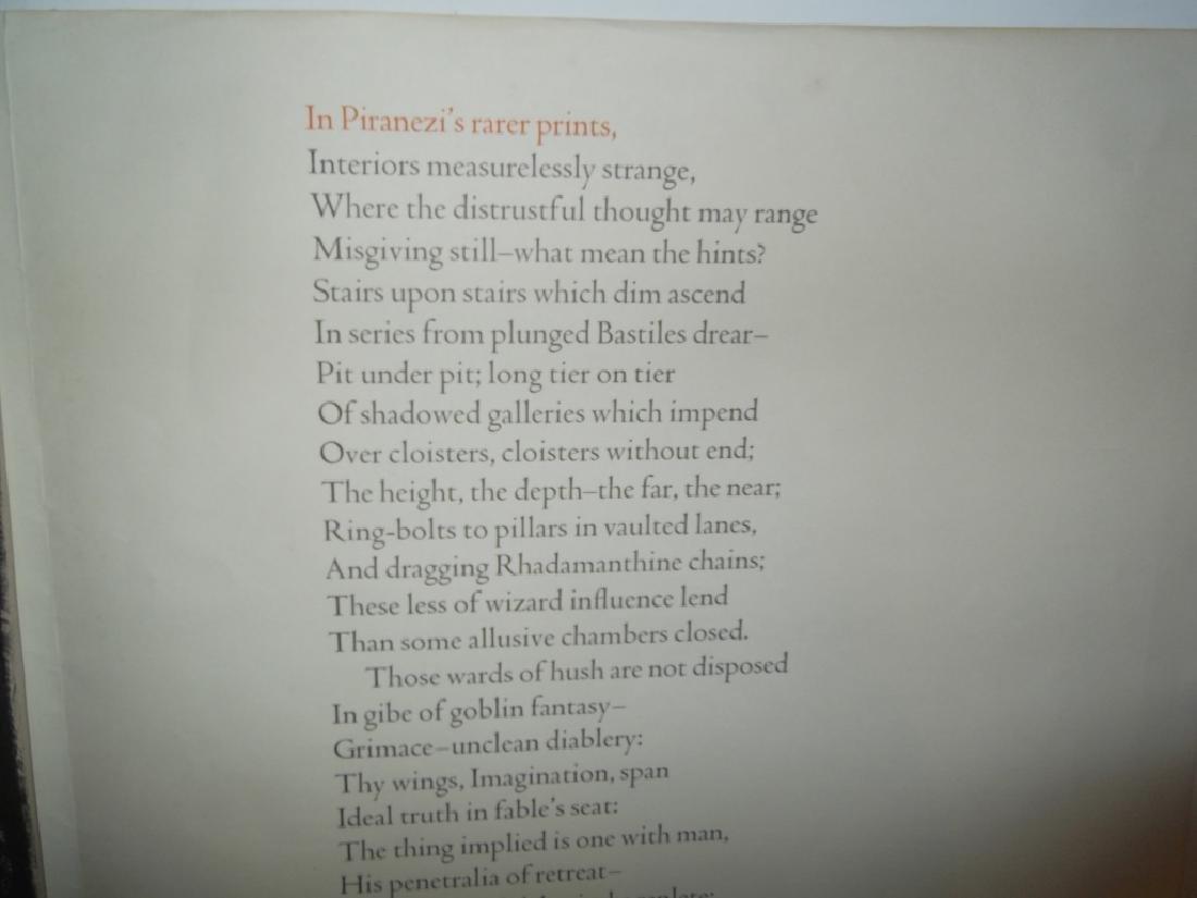 Melville on Piranesi print - 4