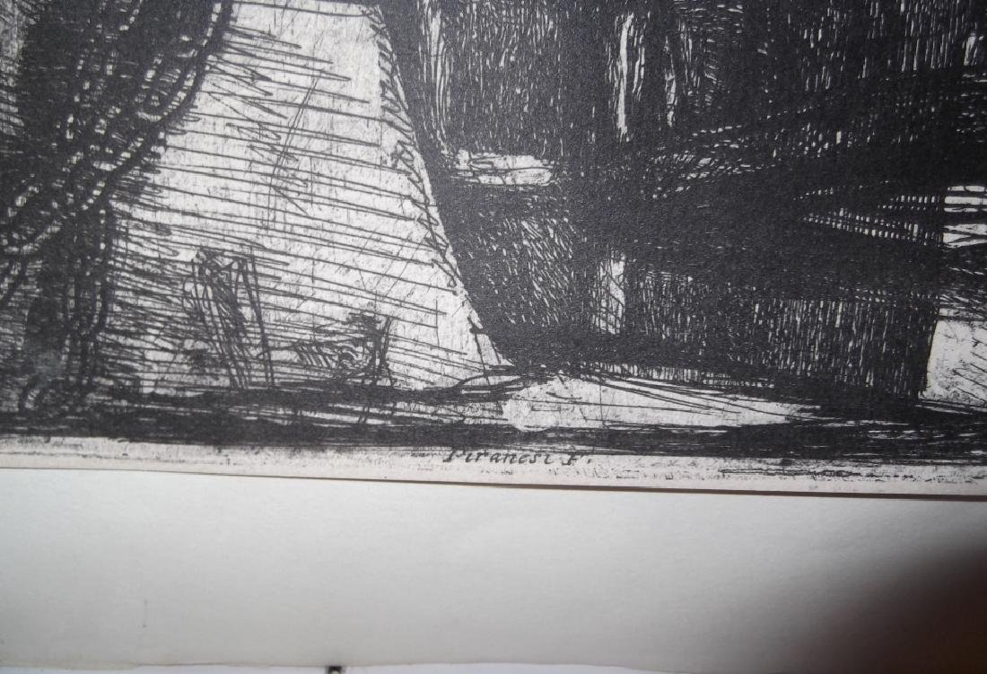 Melville on Piranesi print - 6