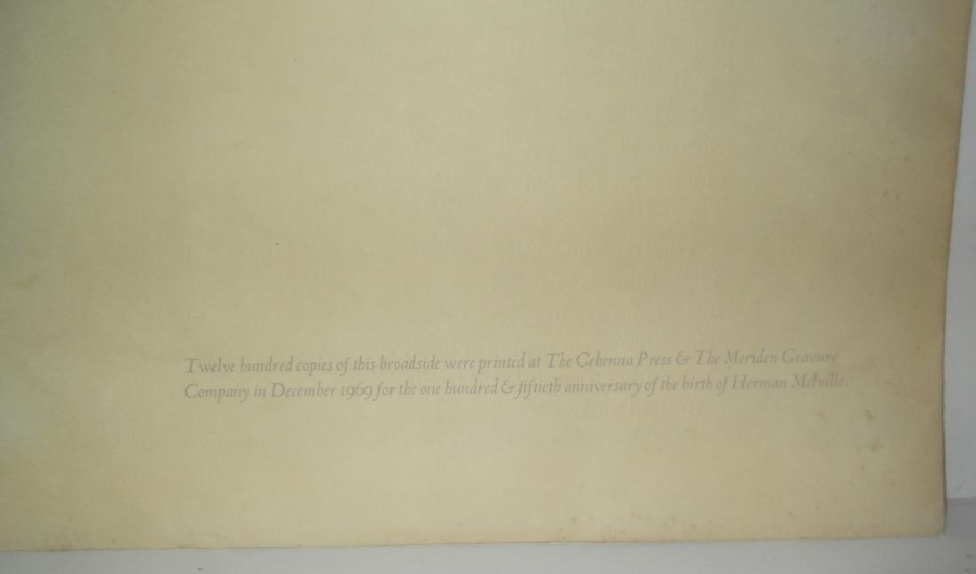 Melville on Piranesi print - 8