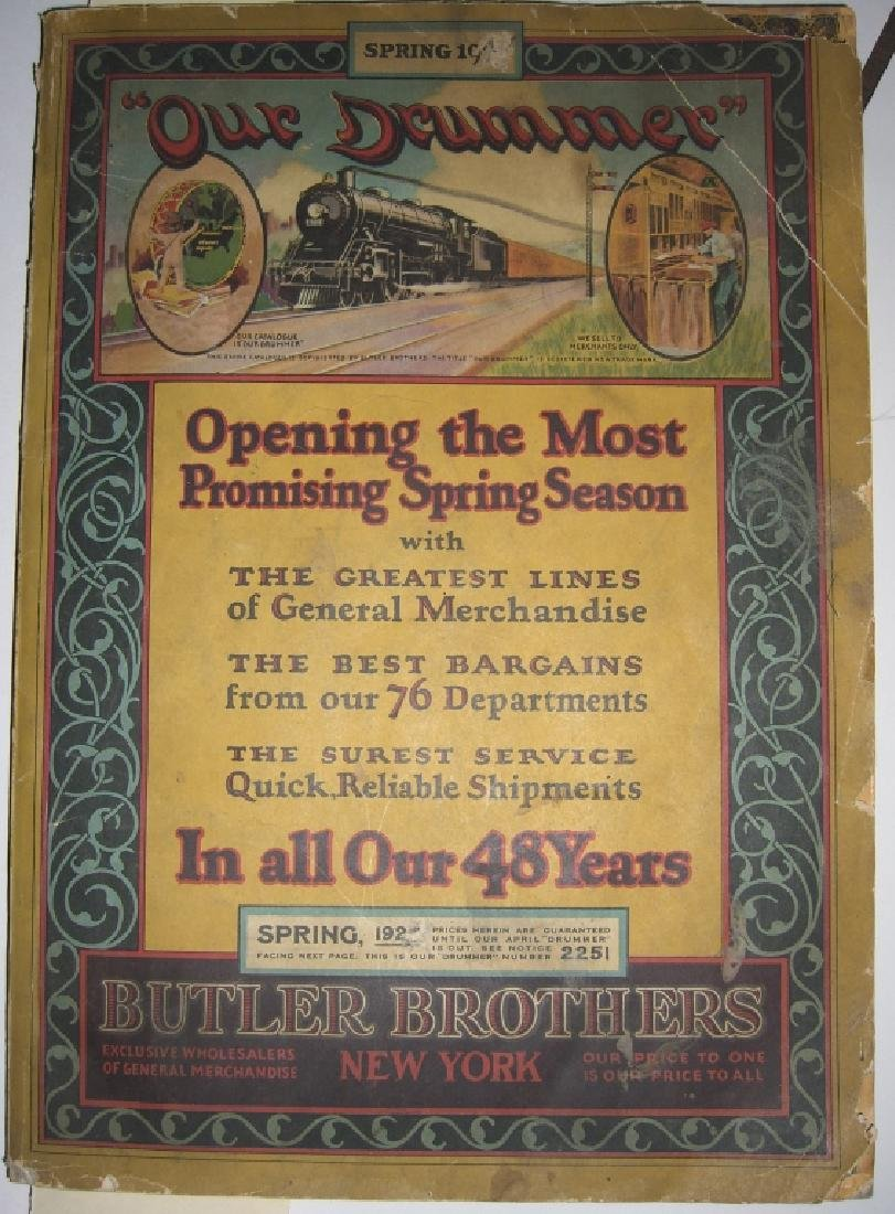 Butler Brothers New York Spring 1925 catalog