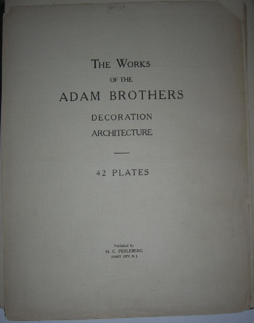 Works of the Adam Brothers Decoration Architecture - 3
