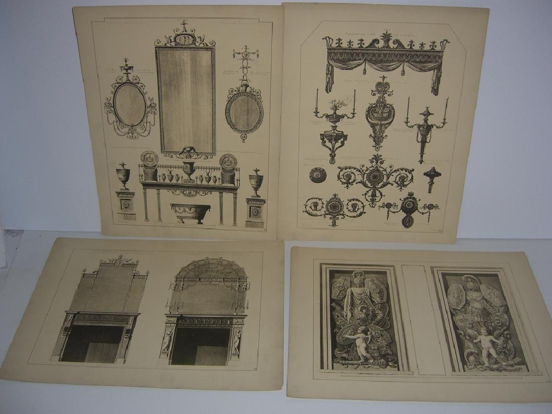 Works of the Adam Brothers Decoration Architecture - 6