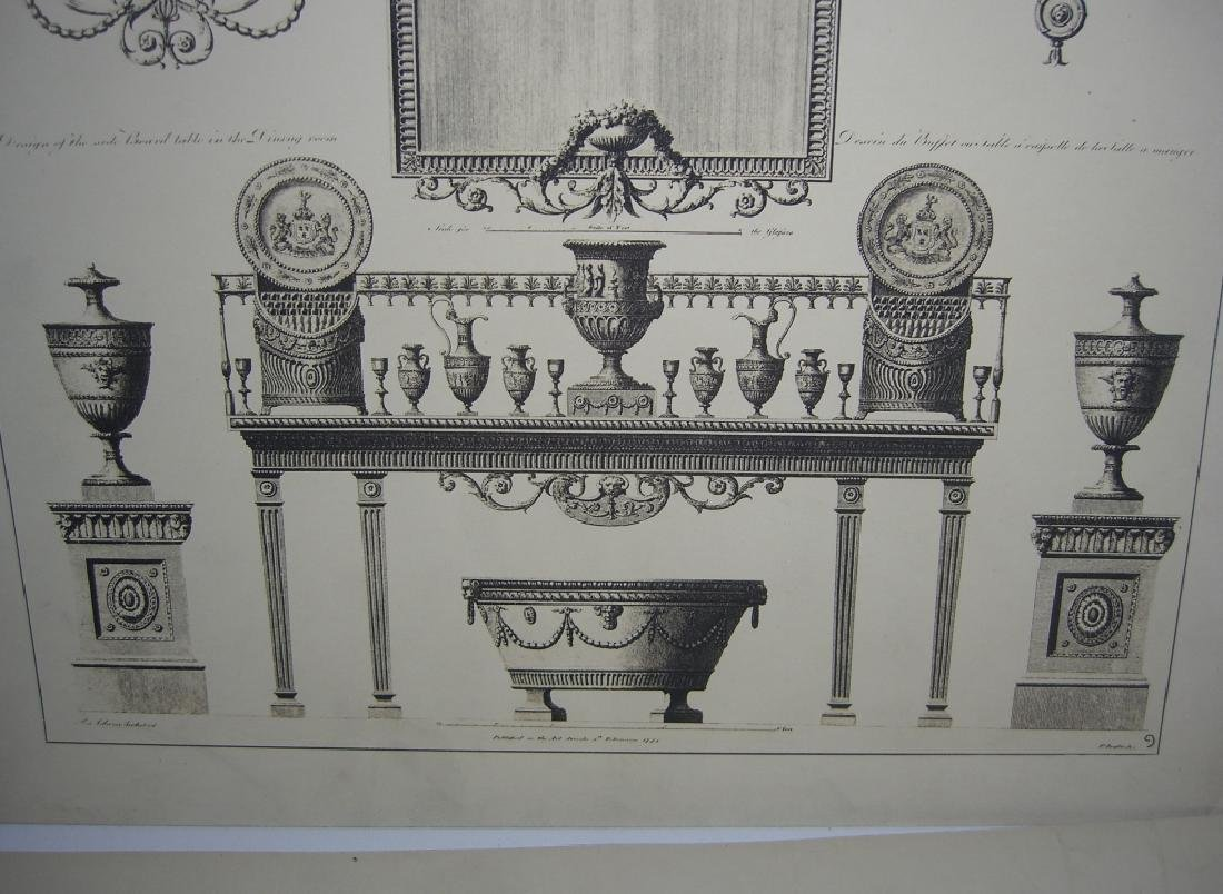 Works of the Adam Brothers Decoration Architecture - 8