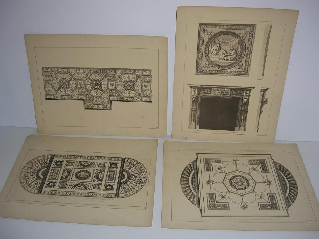 Works of the Adam Brothers Decoration Architecture - 9