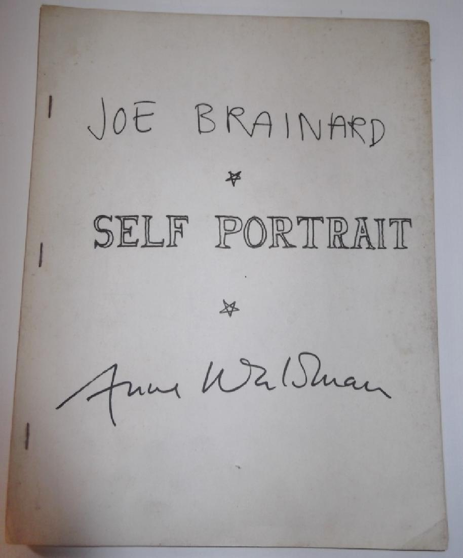"1972 ""Self Portrait"" booklet"