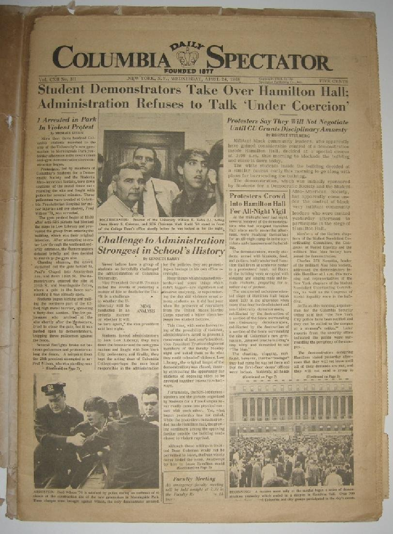 Crisis at Columbia newspaper articles - 8