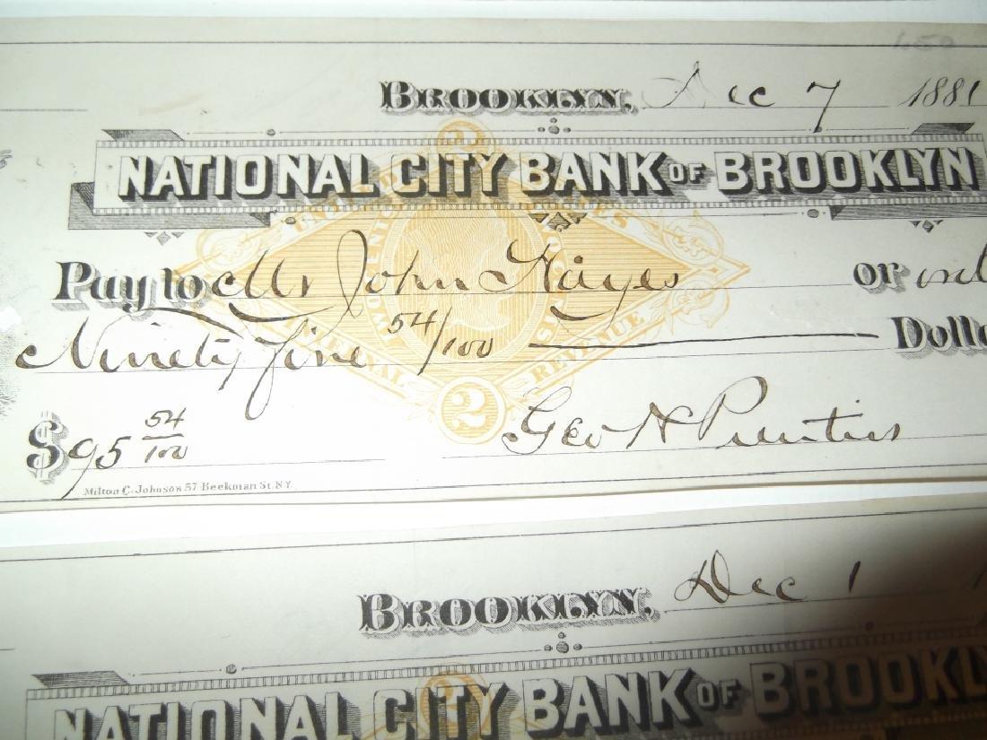 32 1800's bank receipts - 3