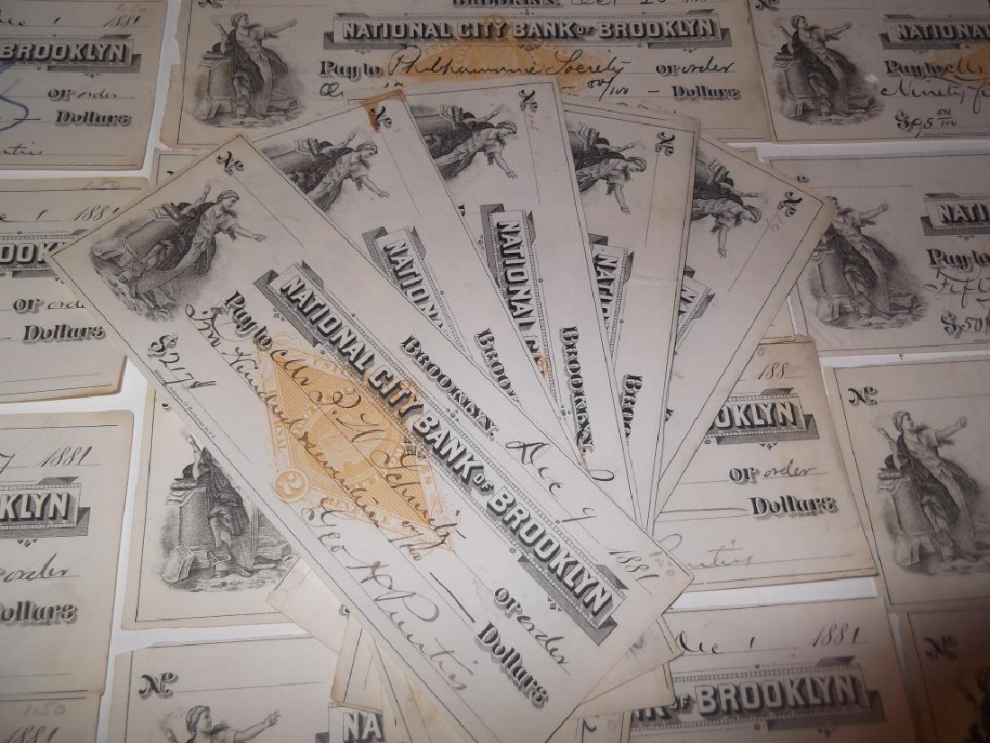 32 1800's bank receipts - 4